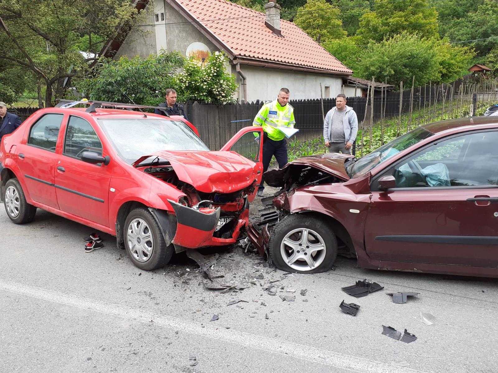 Accident grav produs pe DN 66, în Petroşani